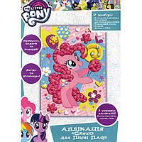 Набор для творчества Росмэн/Перо Картинка-аппликация 18*25см My Little Pony Праздник для Пинки Пай 119897