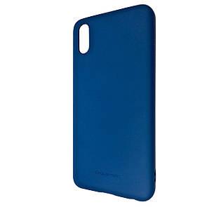 Чехол-Накладка DK-Case Silicone Hana Molan Cano для Vivo Y91c  (blue)