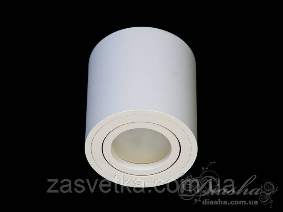 Накладной точечный светильник 601B-4-R-WH