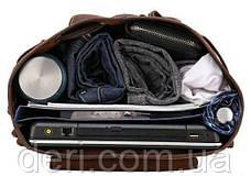 Рюкзак Vintage 14713 кожаный Коричневый, Коричневый, фото 2