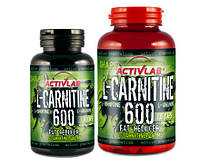 Л-Карнитин Activlab L-CARNITINE 600 with L-ornithine and L-arginine  60caps