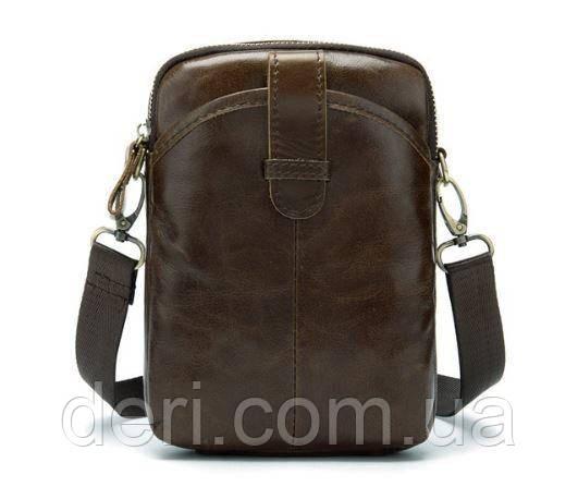Сумка мужская Vintage 14728 Коричневый, Коричневый