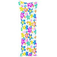 Матрас Jilong 27245 183х69 см Flowers (JL27245_flower)