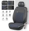 Чехлы на сиденья EMC-Elegant Mitsubishi Pajero Wagon 2006 г (7 мест), фото 2