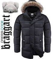 Куртка удлиненная на меху Dress Code - 3226D черная