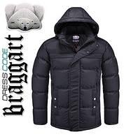 Куртка зимняя мужская Braggart Dress Code - 2045A черная