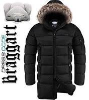 Куртка удлиненная зимняя Dress Code - 3741C черный