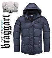 Куртка зимняя мужская Braggart Dress Code - 2045B темно-синяя