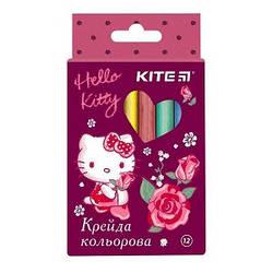 """Мел цветной """"Kite"""", Hello Kitty 12 шт. HK19-075K"""