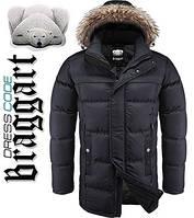 Куртка удлиненная зимняя Dress Code - 4126C черная