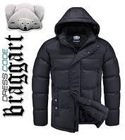 Куртка на меху зимняя мужская Dress Code - 4245D черная