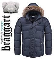 Куртка зимняя мужская Dress Code - 3145C темно-синяя