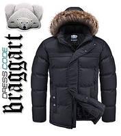 Куртка на меху мужская Braggart Dress Code - 1445D черная