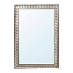 ИКЕА (IKEA) СОНГЕ, 103.369.50, Зеркало, серебристый, 91x130 см - ТОП ПРОДАЖ