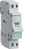 Выключатель нагрузки 1-полюсный 16А/230В, 1м Hager (SBN116)