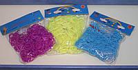Набор резинок для плетения Loom Bands (600 шт + маленький крючок + клипсы)