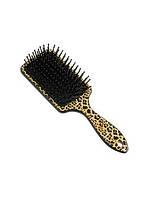 """Щітка для волосся """"ХАМЕЛЕОН"""" (овальна./ різнокольорова) 12 шт./уп. арт. ZV-154"""