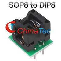 SO8 SOP8 гнездо переходник к программатору DIP8 EZ 150 Mile, фото 1