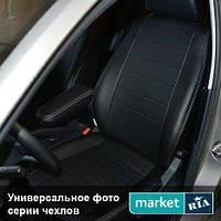 Чехлы на сиденья Chevrolet Lacetti 2004-2017 из Экокожи (AVTOMANIA), полный комплект (5 мест)