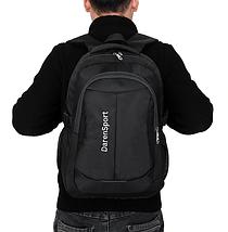 Рюкзак школьный Daren унисекс черный, фото 3