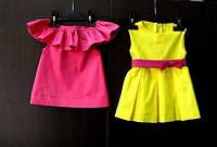 Детское платье из коттона
