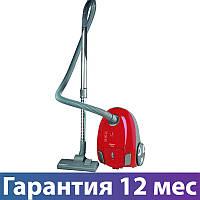 Пылесос Scarlett SC-VC80B95 красный, 1900 Вт, мешок 2.5 л, щетка пол/ковер, насадка для мебели