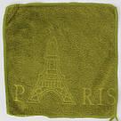 """Набір рушників """"Ейфілева вежа Париж"""" мікрофібра 25*25см (код706-1), фото 3"""