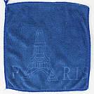 """Набір рушників """"Ейфілева вежа Париж"""" мікрофібра 25*25см (код706-1), фото 5"""