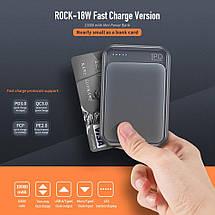 Power bank (Внешний аккумулятор) Mini PD Rock 10000mAh P65 с Quick Charge 3.0 (Navy), фото 2