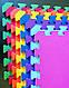 Коврик-пазл (мягкий пол)  48х48х10мм, фото 8