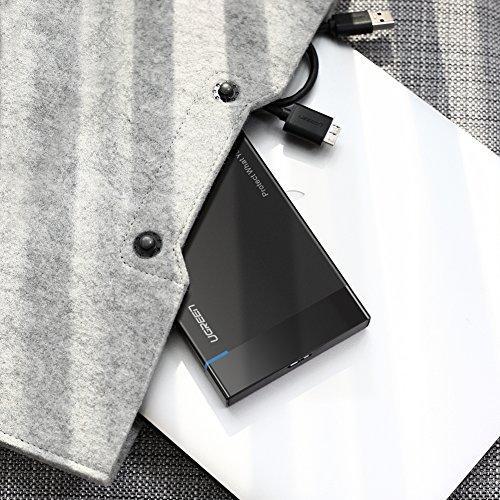 Внешний корпус для жесткого диска Ugreen US221 (HDD/SSD карман) SATA 2.5