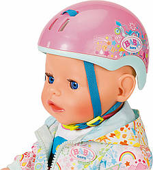 Шлем велосипедный для куклы Baby Born - Play & Fun, Zapf Creation 3+ (827215)