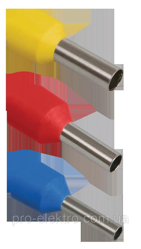 Наконечник-гільза Е0508 0,5мм2 (оранжевий, 20шт) IEK UGN10-4-D05-02-08