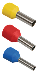 Наконечник-гильза Е0508 0,5мм2 (оранжевый, 20шт) IEK UGN10-4-D05-02-08