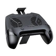 Джойстик для смартфона USAMS US-ZJ037 Cooling Gamepad с функцией охлаждения и зарядки (Черный), фото 3