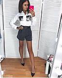 Рубашка женская стильная белая 42-52, фото 2