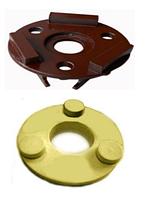 Фреза для очень грубой шлифовки очень прочного бетона CСSS 3-16 для машины CO 199/279/300/307/313