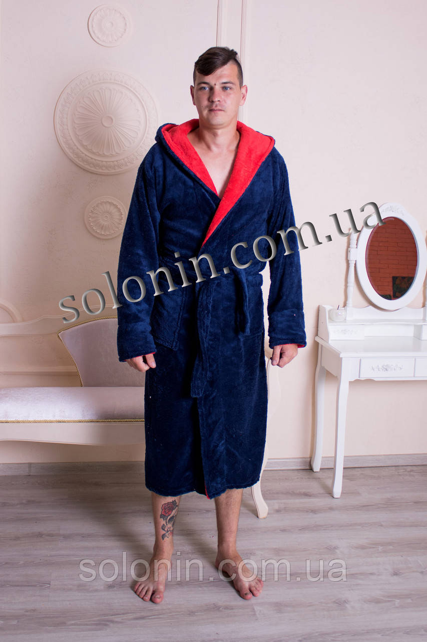 Чоловічій махровый халат.