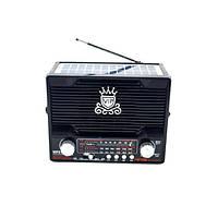 Радиоприемник NS-1556S с солнечной панелью/SD/USB/ + Фонарь