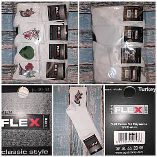 Шкарпетки чоловічі FLEX Мультики і НЛО 000-14
