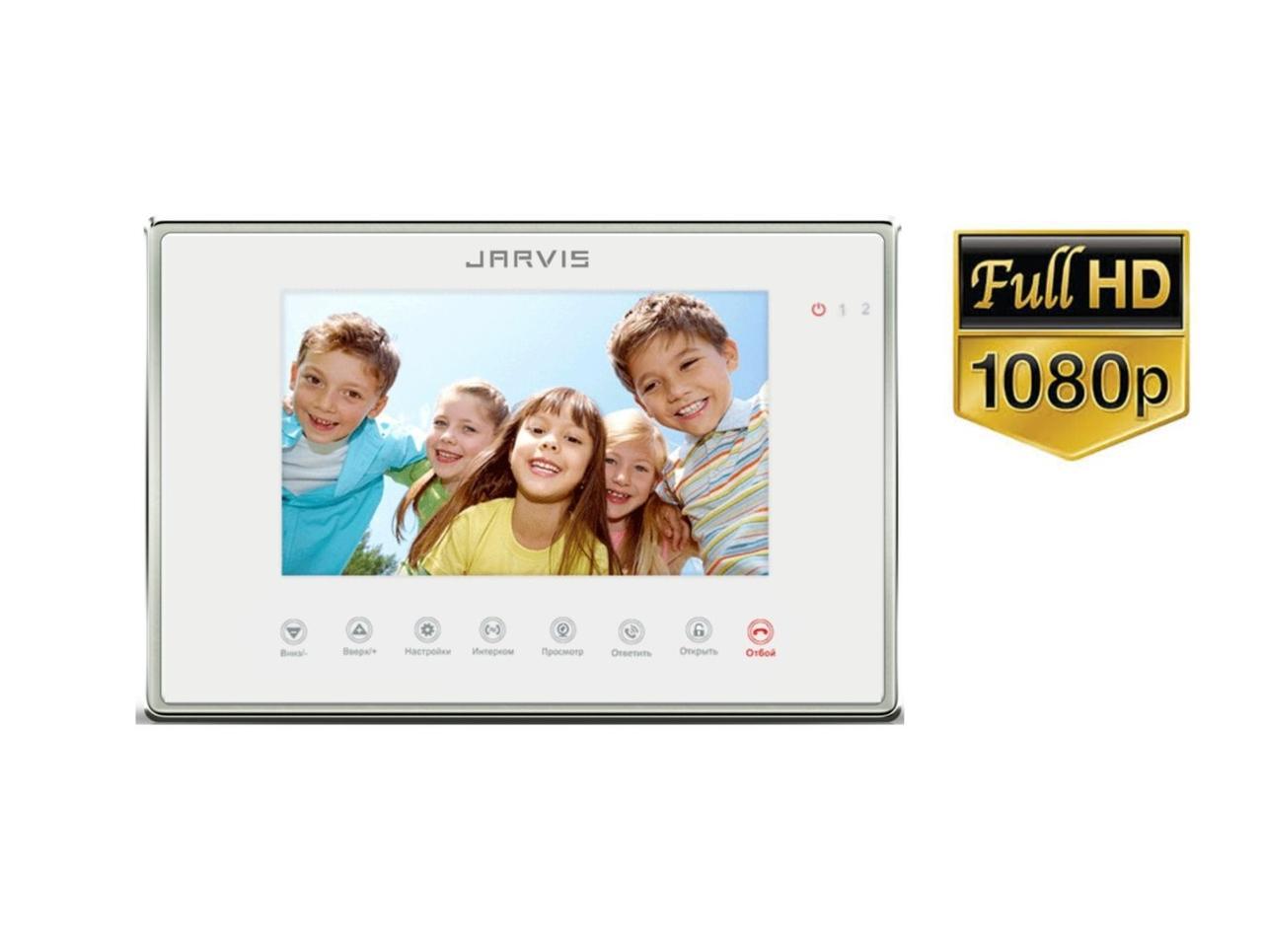 Full HD 1080P Відеодомофон з записом відео по-руху Jarvis JS-7MW FullHD
