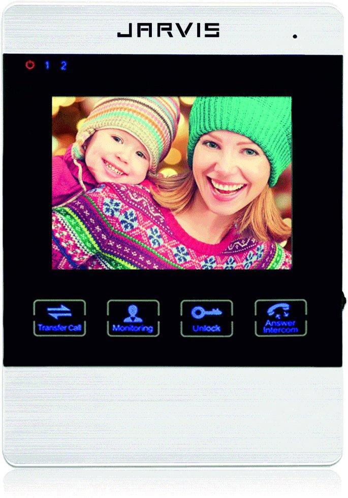 Видеодомофон с записью видео по движению Jarvis JS-4MS