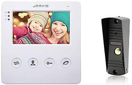 Відеодомофон з записом відео по руху Jarvis JS-4WKit (комплект)