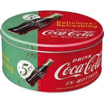 Коробка для хранения Nostalgic-Art Coke Refreshing Green