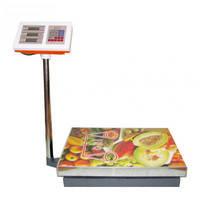 Электронные весы OXI до 300кг 45х60 см (стойка)