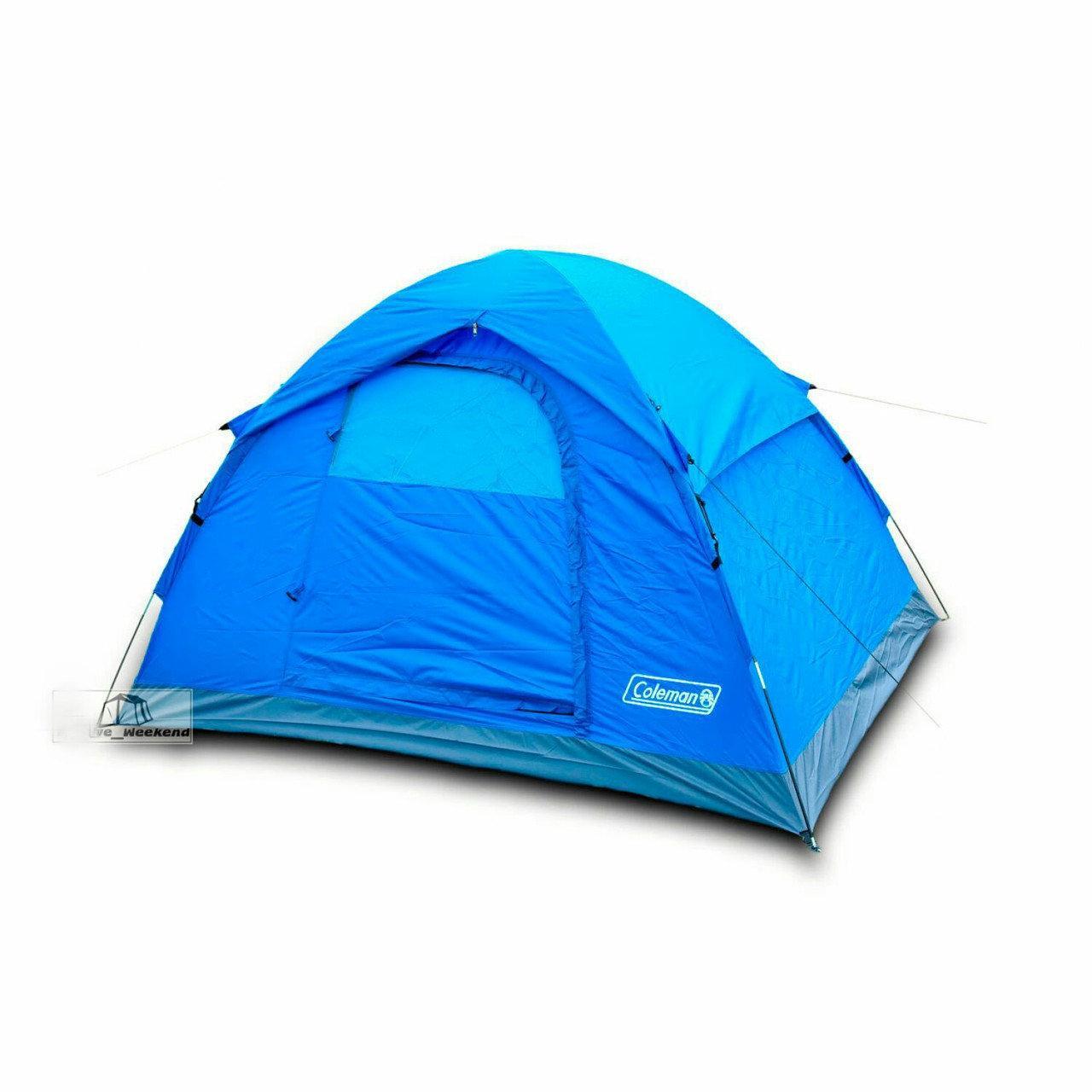 Палатка двухместная двухслойная Coleman