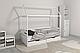 Ліжко дерев'яне Аммі (кровать деревянная), хатка-домик, фото 2
