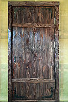"""Двері дерев'яні """"під старовину"""""""