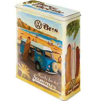 Коробка для хранения Nostalgic-Art VW Bulli, Beetle - Ready for the... XL (30317)