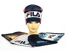"""Трикотажные шапки """"FILA"""" для мальчика"""